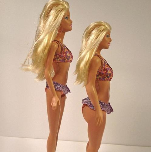 barbie corpo reale, barbie donna vera, barbie viva, barbie proporzioni,